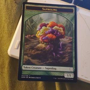 Saporling token magic card